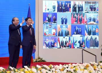 RCEP、15カ国が協定に署名 巨大経済圏、関税91%撤廃 画像1