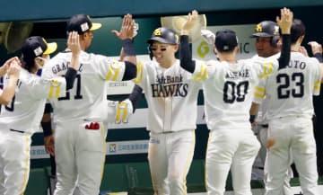 ソフトバンクが日本シリーズ進出 ポストシーズン12連勝 画像1