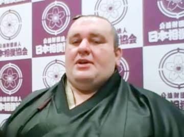 臥牙丸「最高の相撲人生だった」 元小結、オンラインで引退会見 画像1