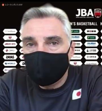 バスケ男子日本、9カ月ぶり合宿 ラマス監督「成長につながる」 画像1