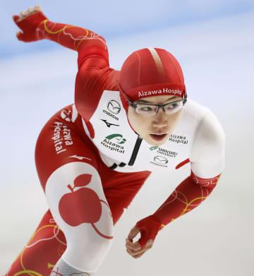 小平、村上が500メートル制す スピードスケート、全日本選抜 画像1