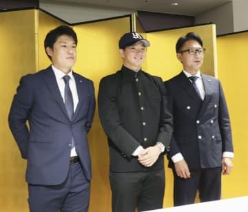 慶大の木沢、ヤクルト入団が決定 「目標は開幕1軍」 画像1