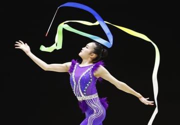 新体操、喜田純鈴V3で個人5冠 全日本選手権第2日 画像1