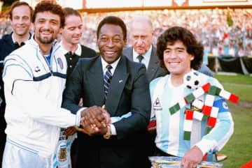 サッカー界、深い悲しみの声 マラドーナさん死去にペレさんら 画像1