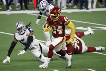 ワシントン、大勝で4勝目 米NFL、第12週の第1日 画像1