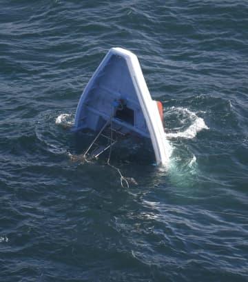 遊漁船転覆、1人死亡11人けが 貨物船と衝突、茨城・鹿島港 画像1