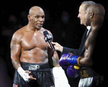 54歳タイソン15年ぶり試合 ボクシング元世界王者 画像1