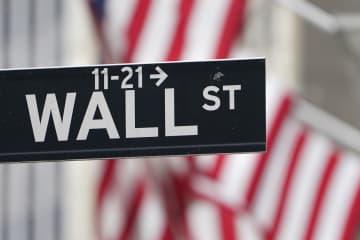 NY株反落、271ドル安 月間上昇率は87年1月以来 画像1
