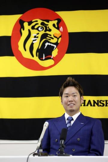 阪神の西勇輝、2億円で更改 4年契約の3年目、現状維持 画像1