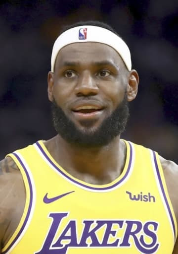 NBA、ジェームズが契約延長 レーカーズ、22~23年まで 画像1