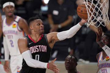 NBA、ウエストブルックを獲得 八村のウィザーズ 画像1