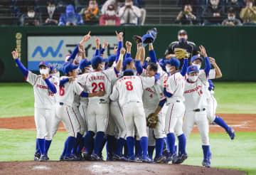 都市対抗野球、ホンダが3度目V 決勝でNTT東日本下す 画像1