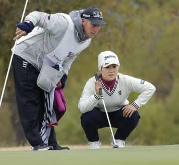 畑岡は首位と4打差、暫定18位 米女子ゴルフ第1日 画像1