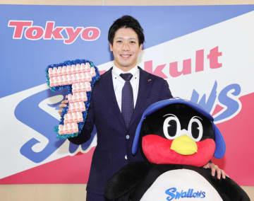 山田哲人が7年契約結ぶ ヤクルト、主将就任 画像1