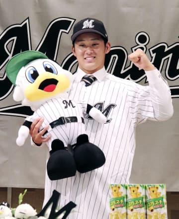 鈴木昭汰投手「強気が持ち味」 ロッテの指名1位、入団合意 画像1