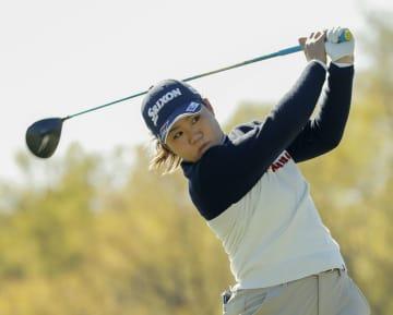 畑岡奈紗、69で3打差10位 米女子ゴルフ第2日 画像1