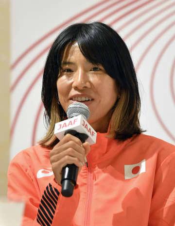 新谷仁美「しっかり準備する」 陸上五輪代表の3選手が会見 画像1