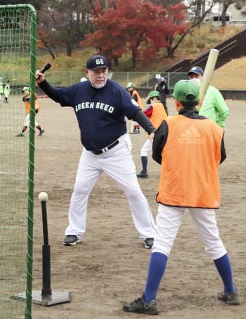 清原さんが小学生野球教室で講師 再起へ情報発信に意欲 画像1