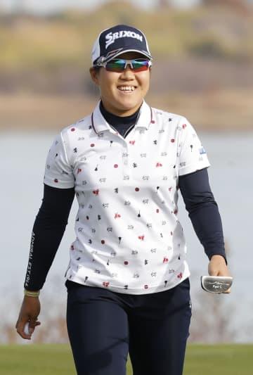 畑岡奈紗、首位と1打差4位浮上 米女子ゴルフ第3日 画像1