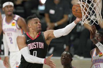 ウィザーズで「NBA優勝」目標 新加入のウエストブルック 画像1