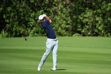 小平智、通算-7で28位浮上 米男子ゴルフ第3日 画像1