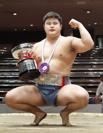 日体大の花田がアマチュア横綱に 大学1年での制覇は36年ぶり 画像1