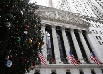 NY株反発、104ドル高 ナスダック、SP最高値 画像1