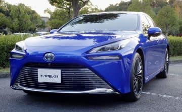 トヨタ、新型MIRAI発売 水素走行2代目、燃費向上 画像1
