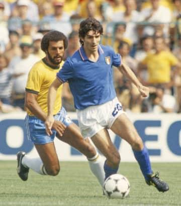 W杯得点王のP・ロッシさん死去 サッカーのイタリア代表、64歳 画像1