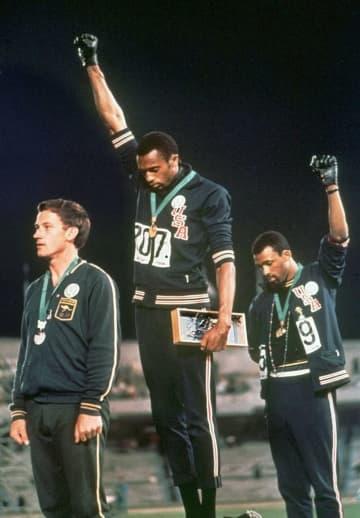 五輪での平和的抗議行動を不問に 米国五輪委が方針 画像1