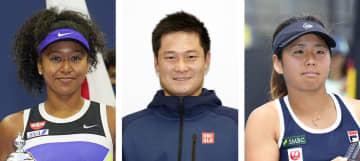大坂、国枝、上地を選出 テニス協会の年間最優秀選手 画像1