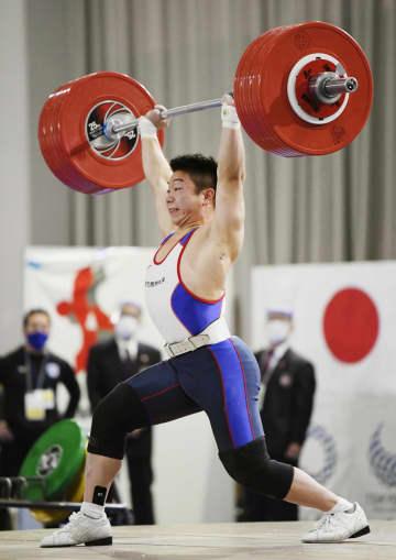 重量挙げ、宮本が日本新で優勝 全日本選手権 画像1