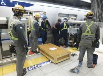 地下鉄のホームドア設置急ピッチ 東京メトロ、作業公開 画像1