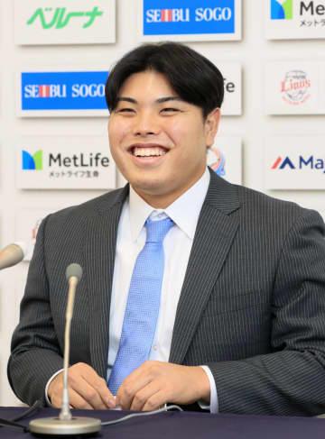 西武・平良海馬は3千万円増 年俸4200万円、新人王候補 画像1