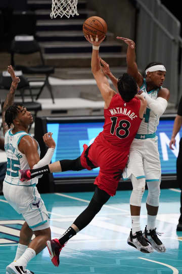 NBAラプターズの渡辺は5得点 オープン戦に12分間出場 画像1