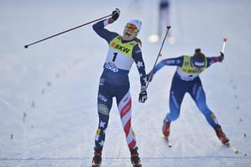 米のブレナンがW杯初優勝 ノルディックスキー距離 画像1
