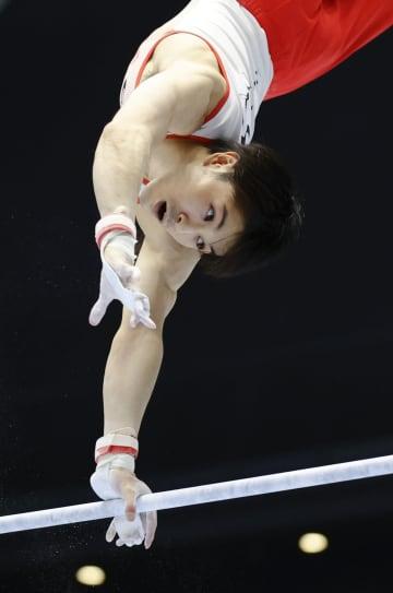 体操、内村は種目別鉄棒で日本一 萱が個人総合V、北園2位 画像1