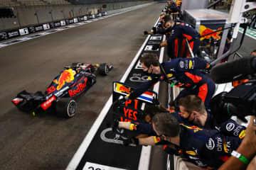 F1、ホンダ勢が今季3勝目 最終戦でフェルスタッペンV 画像1