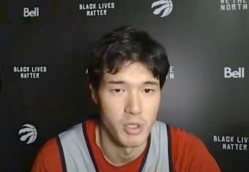 NBA、5得点の渡辺が自信示す 「アピール、かなりできている」 画像1