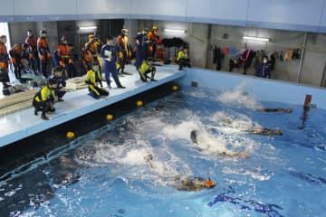 「海猿」50年で訓練公開、横浜 全国から潜水士集結 画像1