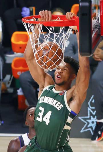 NBA、アデトクンボの契約延長 バックス、2季連続MVP 画像1