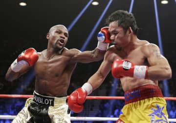 メイウェザーさんが殿堂入り ボクシング、「非常に光栄」 画像1
