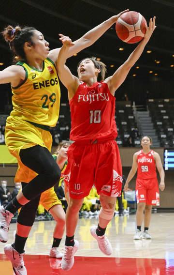 バスケ女子、ENEOSなど4強 全日本選手権第3日 画像1