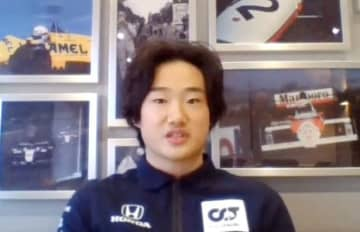 角田裕毅「夢はF1総合王者」 来季、Aホンダでデビュー 画像1