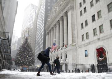NY株反発、最高値更新 経済対策期待、主要指数も 画像1
