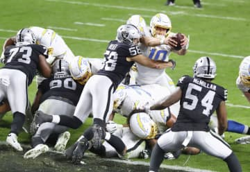 NFL、チャージャーズが5勝目 第15週、延長でレイダース破る 画像1