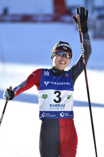 スキー、20歳の中村が3位 初実施のW杯複合女子 画像1