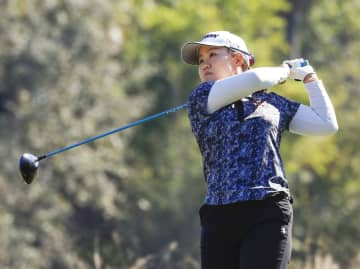 畑岡奈紗、8打差28位に上げる 米女子ゴルフ最終戦 画像1