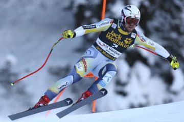 男子滑降、キルデが今季2勝目 アルペンスキーW杯 画像1