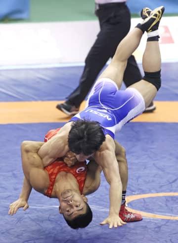 レスリング、五輪代表の文田がV 高谷惣は10年連続日本一 画像1